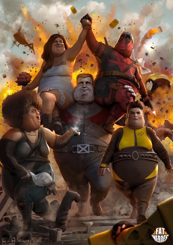 X-Men อ้วนลงพุง