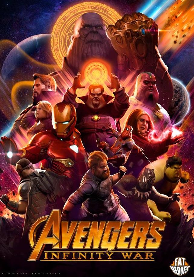 Avengers Endgame อ้วนลงพุง