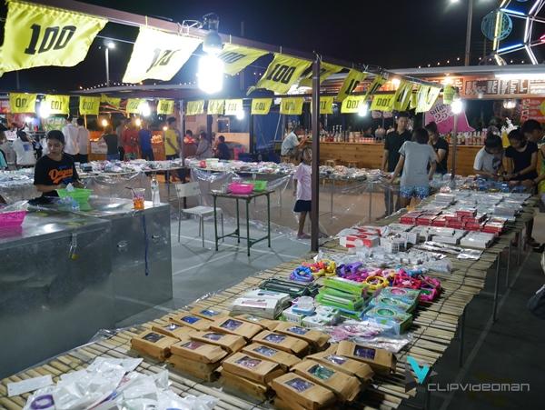 ตลาดนัดมะลิ เลียบด่วนเมืองทอง