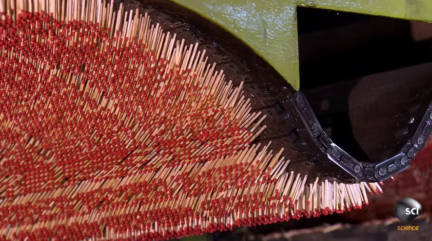 วิธีการผลิตไม้ขีดไฟ