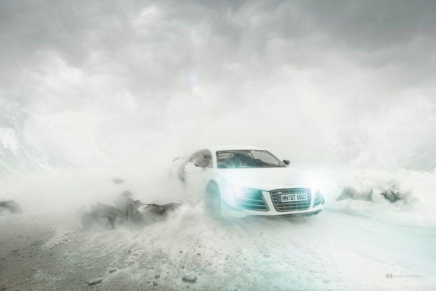 รถ Audi R8 คันละ $40