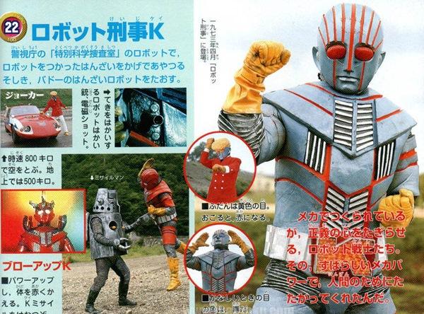 หุ่นยนต์นักสืบ K Robot Detective K