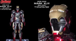 Iron man Mark XLIII Movable armor version