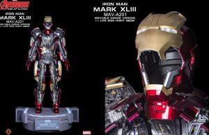 Iron man Mark XLIII Movable armor version