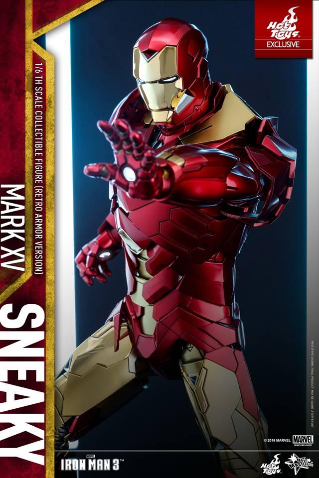 Hot toys Iron man 3 Sneaky Mark XV