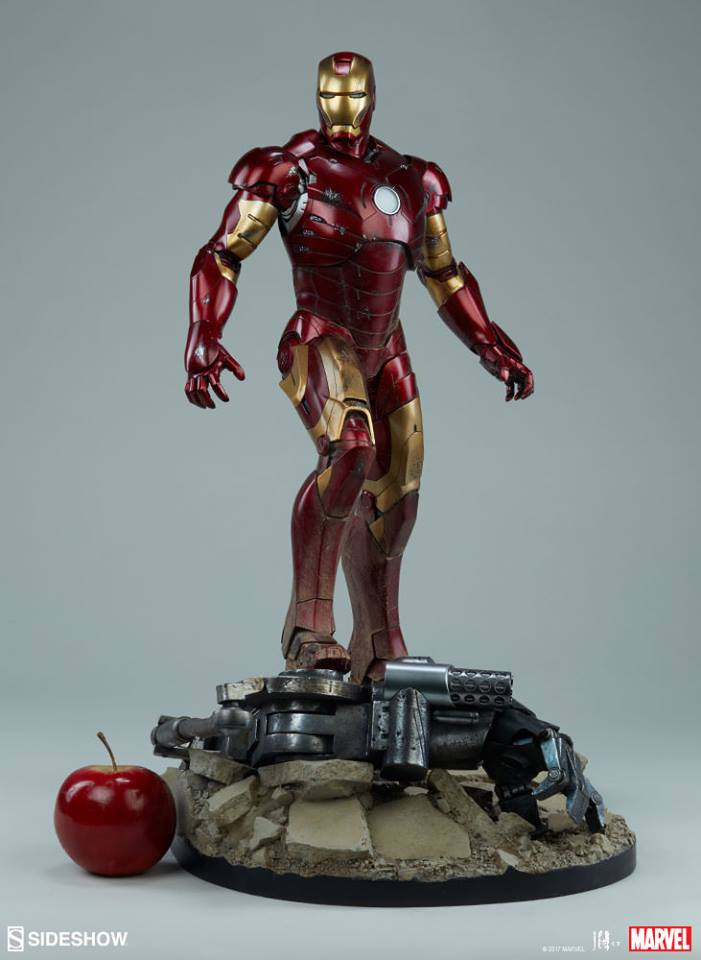 Iron Man Mark III Maquette by Sideshow Collectibles