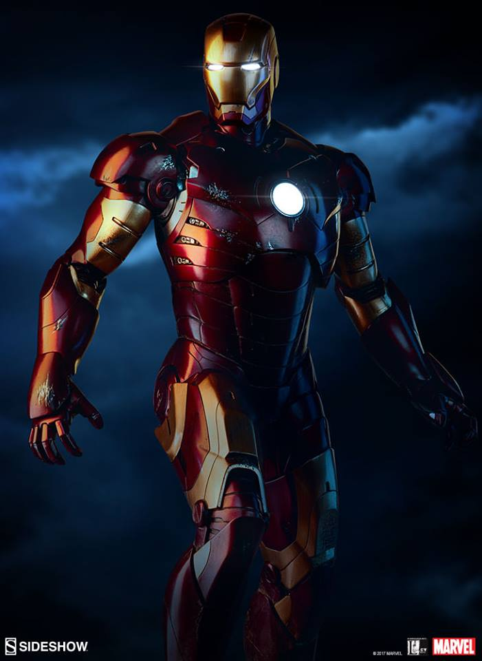 Iron Man Mark IIIMaquette by Sideshow