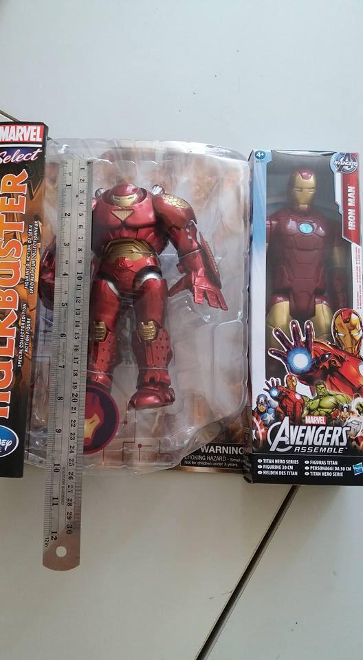เฉลยกลโกง! ออนไลน์ ขาย Hottoys HulkBuster ตัวละ 3 หมื่น ในราคา 2 พัน
