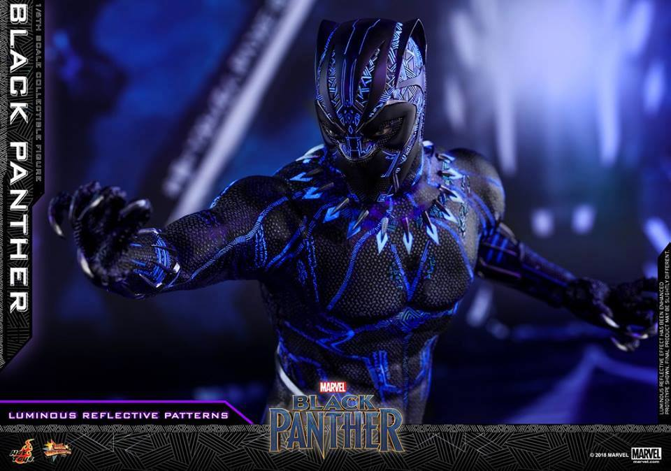 Hottoys Black Panther 1/6 Scale
