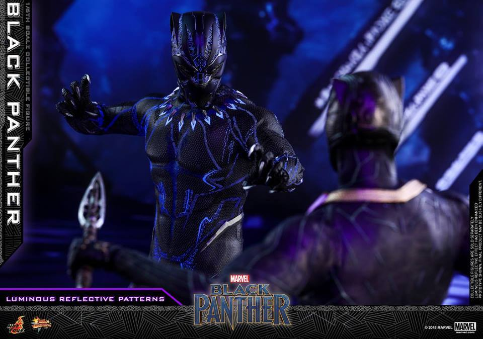 Hottoys MMS470 Black Panther 1/6 Scale