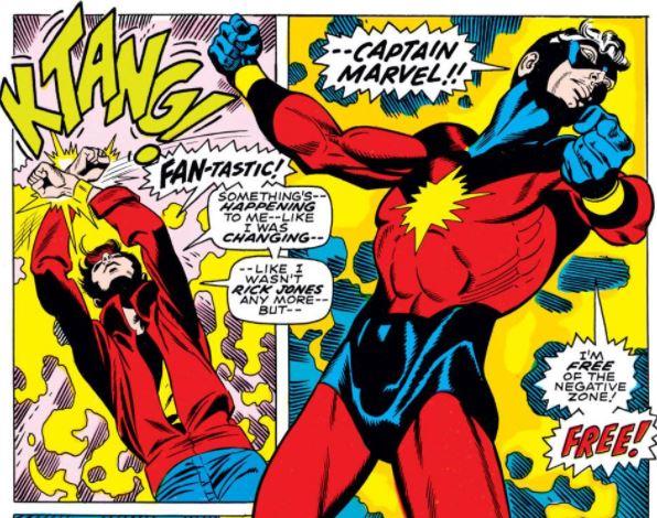 กัปตันมาร์เวล Captain Marvel