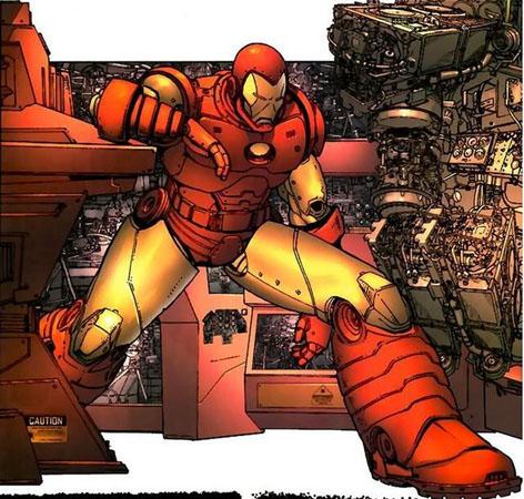 Iron man High-G suit