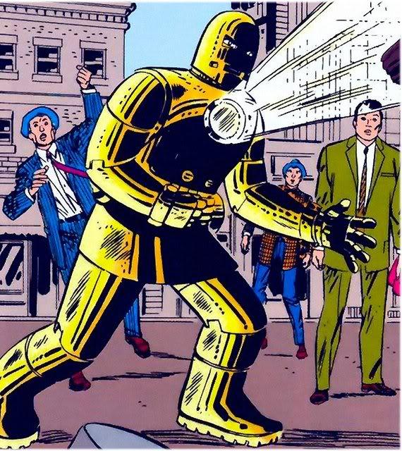 Iron man Golden Avenger