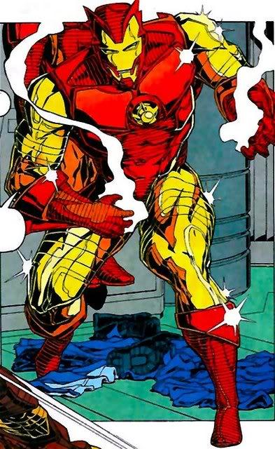 Iron man Teen Tony