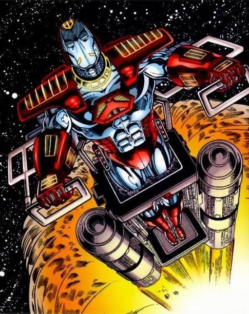 Iron man Outer Atmospheric Armor