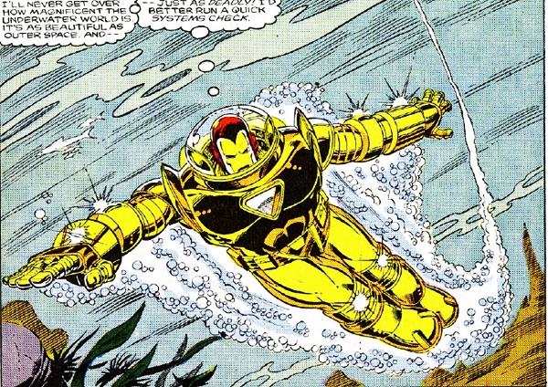 Iron man Hydro-Armor/Undersea Armor