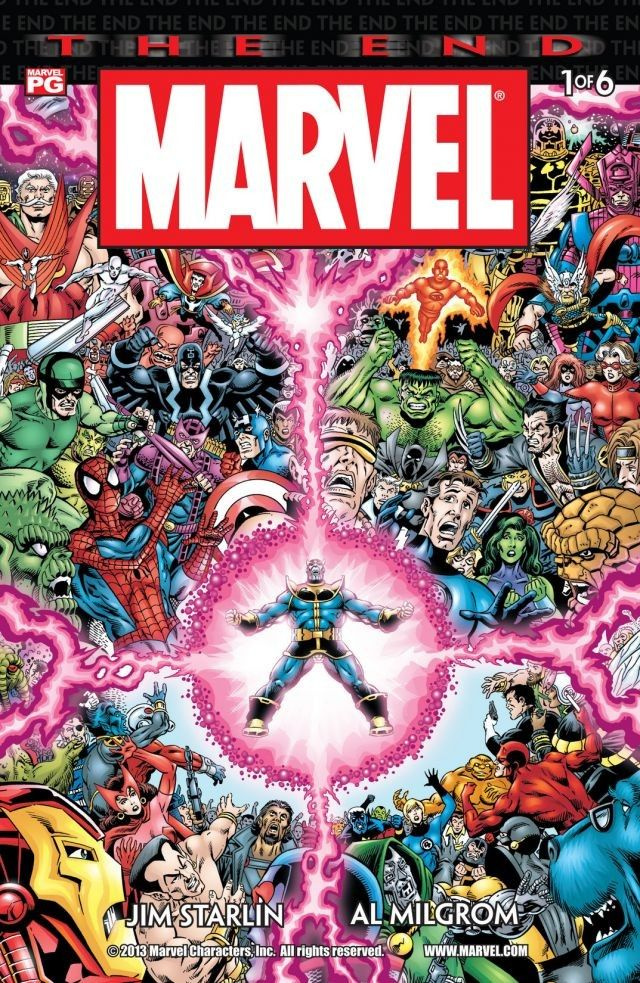 Marvel Universe : The End