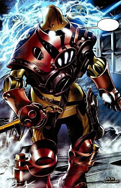 The Lord Iron armor from Marvel 1602