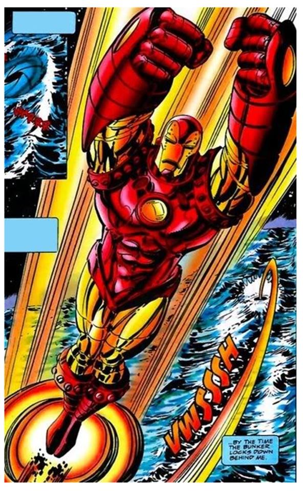 Iron man Crossing Armor