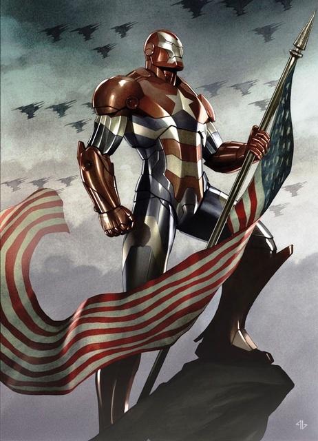Iron Man's Captain America Armor