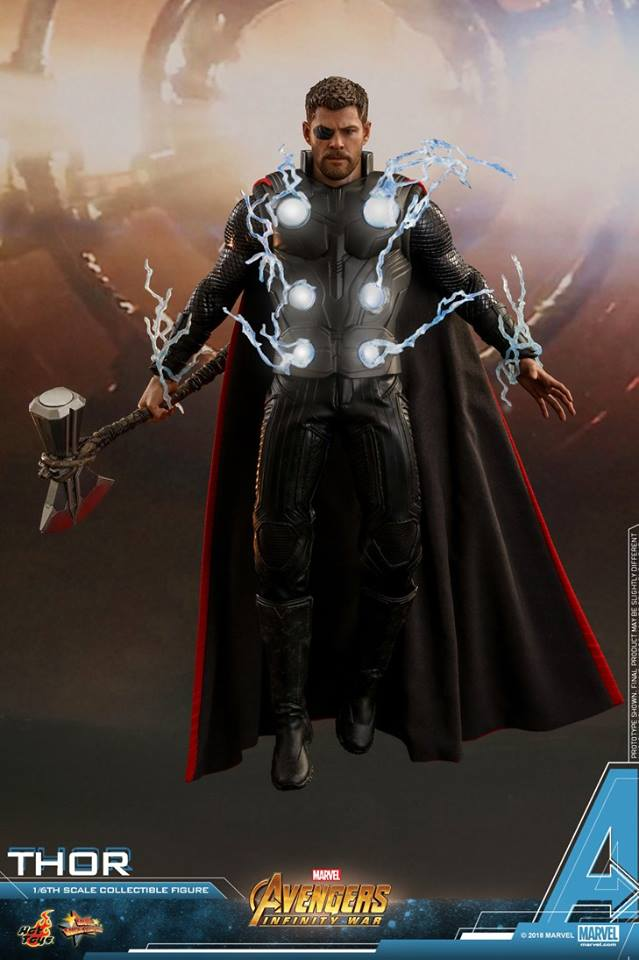 Avengers infinity war Thor MMS  1/6 Collectible figure
