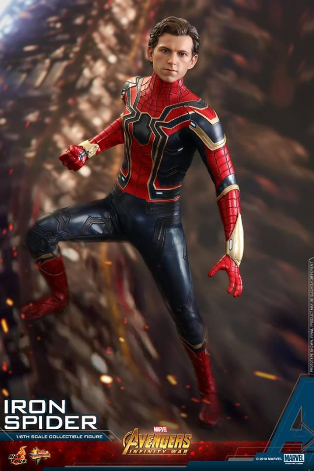 Hot toys Iron Spider
