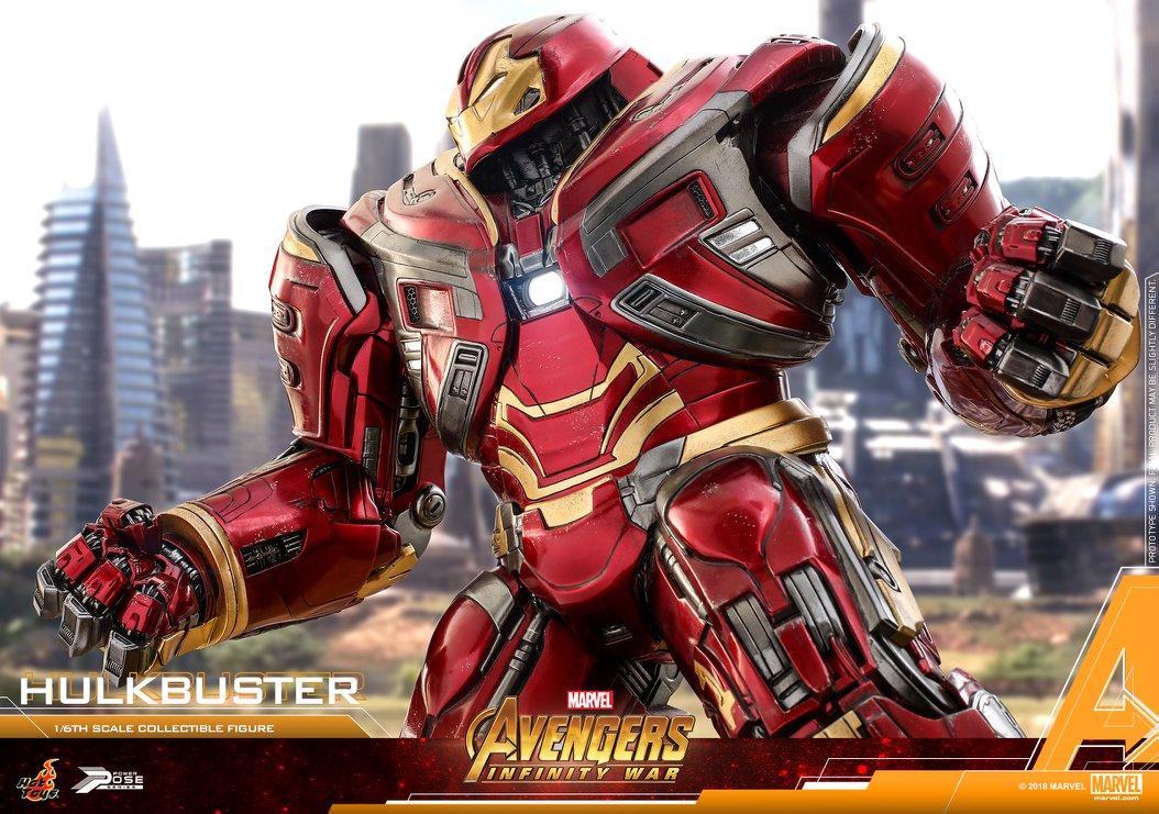 ฮัลค์ บัสเตอร์ Hulk Buster 2 อเวนเจอร์ อินฟินิตี้วอร์ Avengers Infinity War