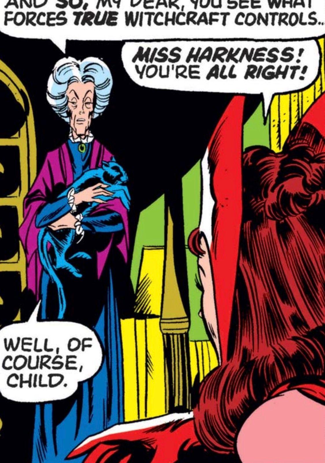 Agatha Harkness, Avengers