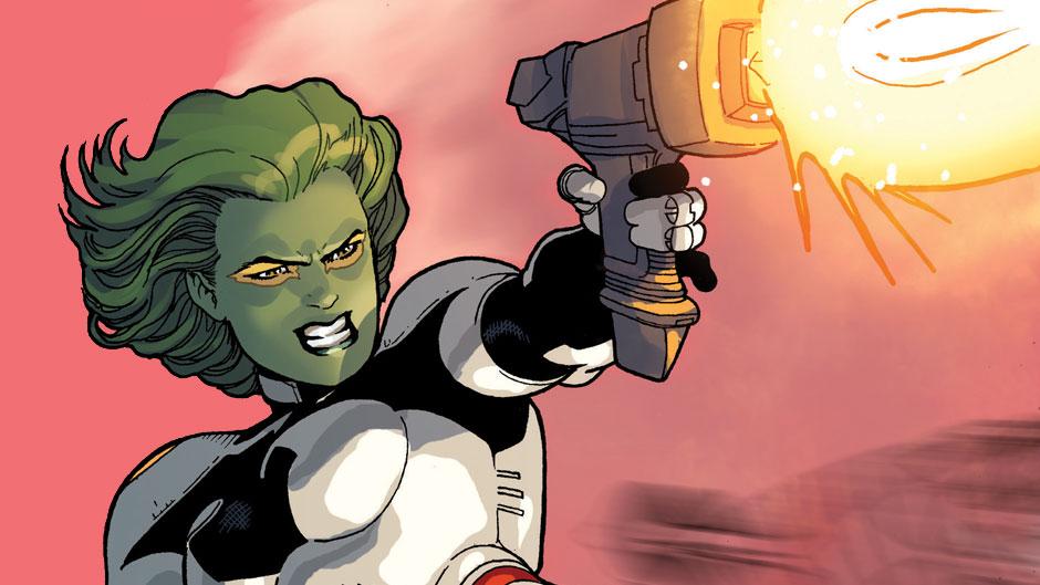 กาโมร่า GAMORA ลูกเลี้ยงทานอส ผู้หญิงที่น่ากลัวที่สุดในจักรวาล