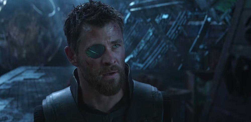 Thor เทพเจ้าสายฟ้า ใน อะเวนเจอร์ส อินฟินีตี้วอร์ Avengers infinity war