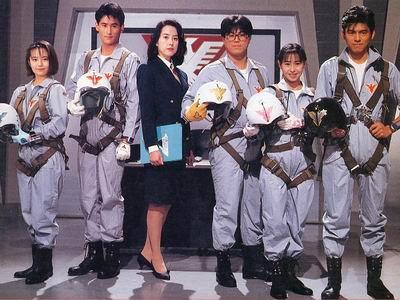 ขบวนการมนุษย์วิหค เจ็ทแมน Choujin sentai Jetman