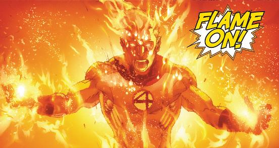 ประวัติ มนุษย์เพลิง The Human Torch