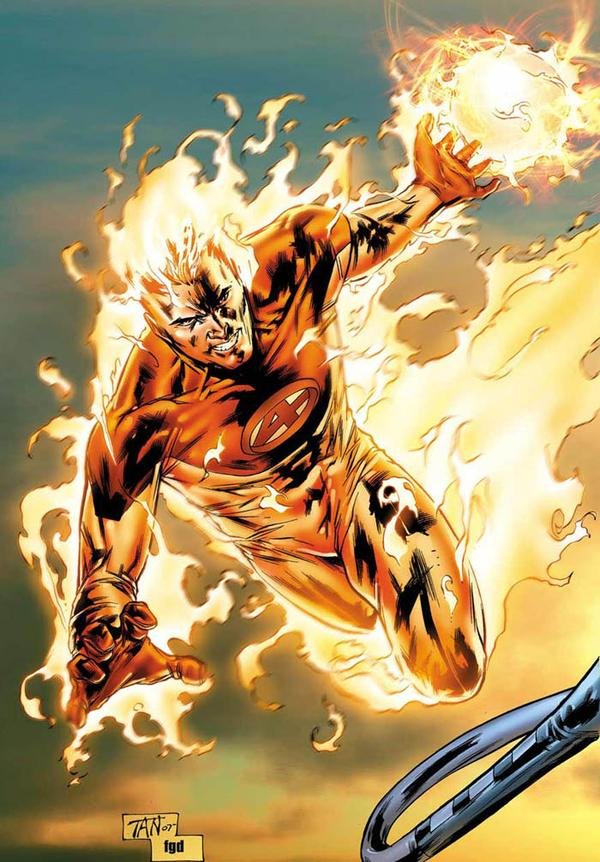 มนุษย์เพลิง The Human Torch แห่ง Fantastic Four