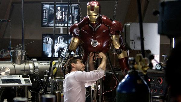 ชุดเกราะ Iron man 2008 โดนขโมย