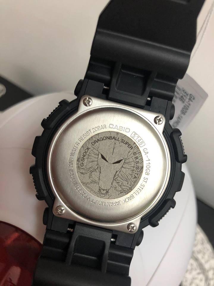 รีวิว นาฬิกา ดราก้อนบอล Casio G-Shock x DragonBall