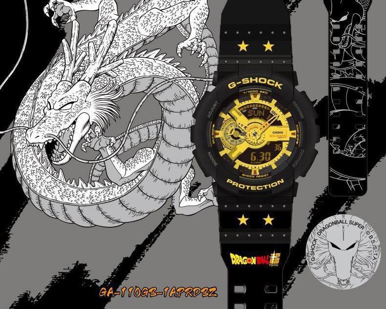 นาฬิกา ดราก้อนบอล Casio G-Shock x DragonBall