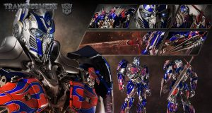 Optimus Prime: The Last Knight Statue