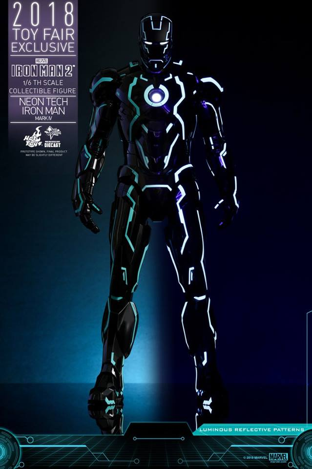 Iron Man Mark IV Neon Tech 1/6 scale