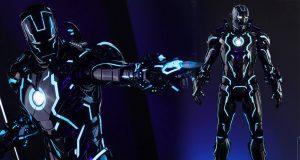 Toys Fair Exclusive 2018 Hot toysIron Man Mark IVNeon Tech 1/6scale