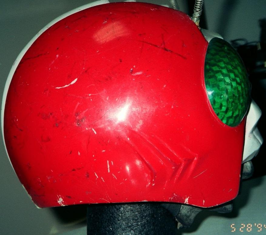 หมวก ไอ้มดเขียว ใช้ถ่ายทำจริง