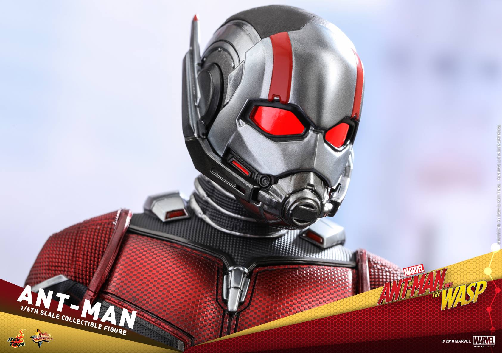 Hottoys Ant-Man The Wasp
