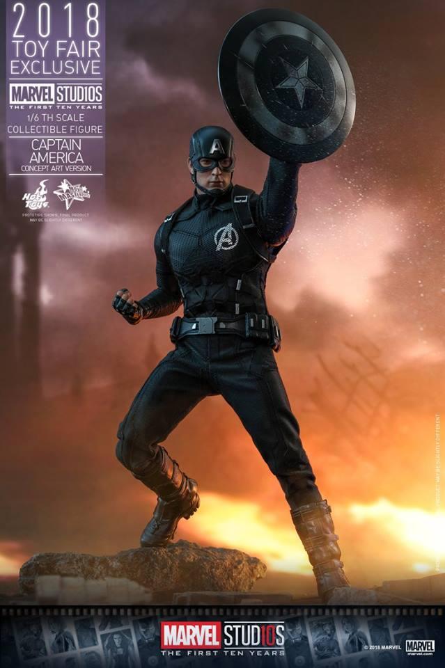 Captain America (Concept Art Version) 1 ใน 4 สินค้าพิเศษ Toy Fair Exclusive 2018