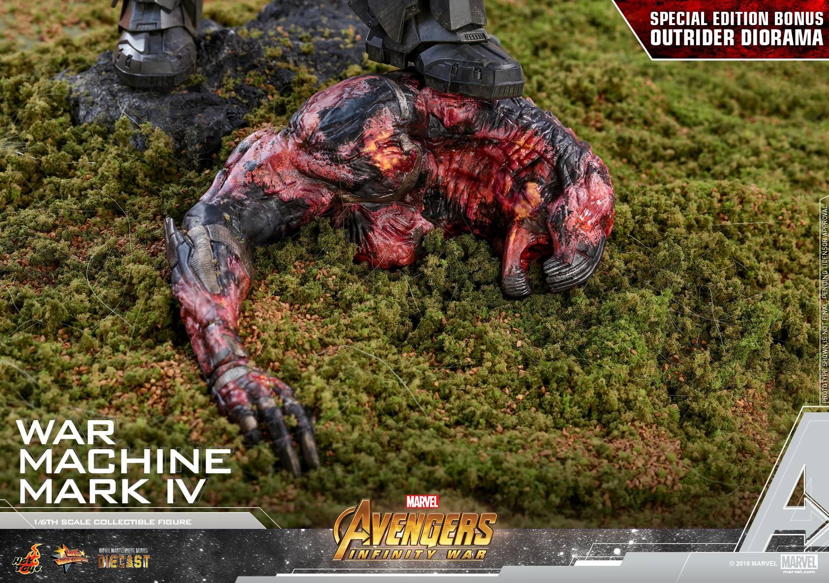 รูป Hot toys War Machine Mark IV Avengers Infinity War