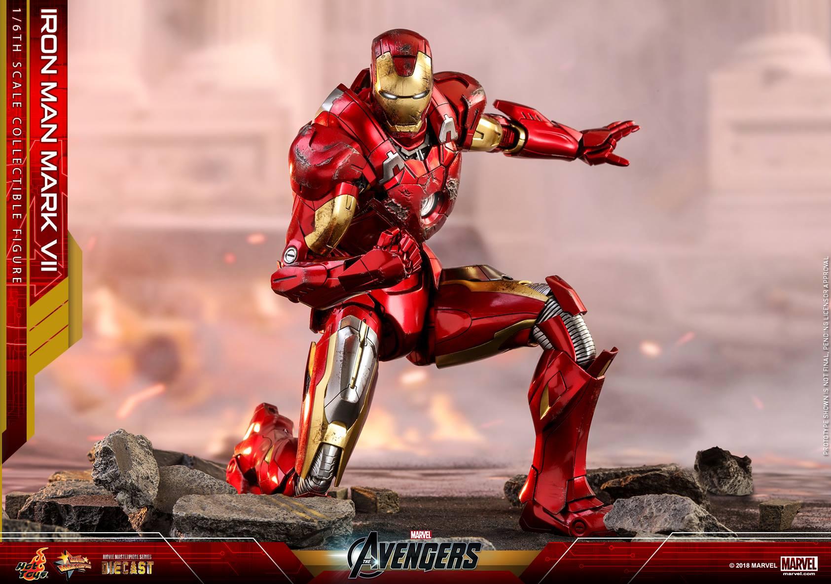 Iron man มาร์ค 7 diecast
