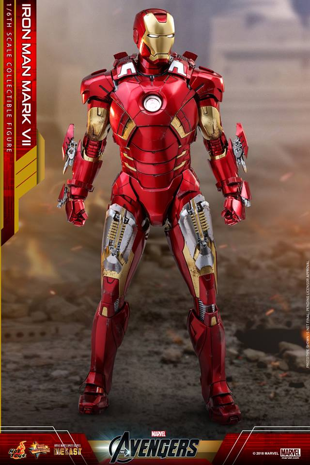 The Avengers - 1/6th scale Iron Man Mark VII Collectible Figure