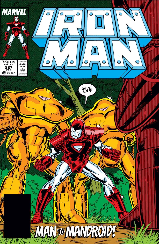 Iron man Vs Mandriods