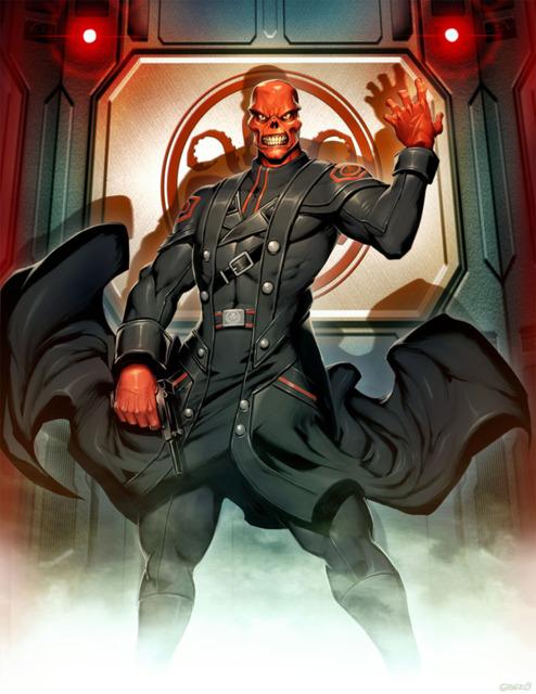 ประวัติ Red Skull