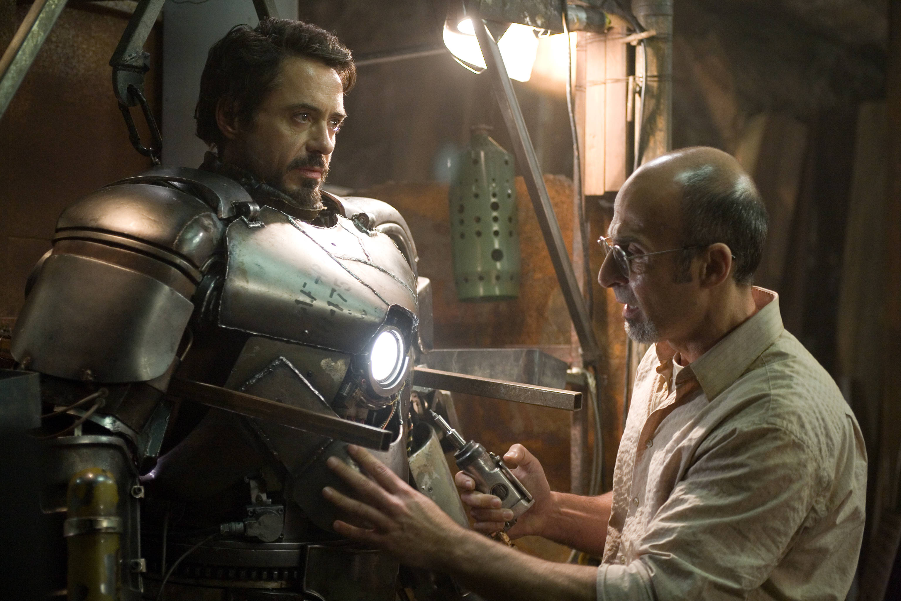 สร้างชุด Iron man mark 1
