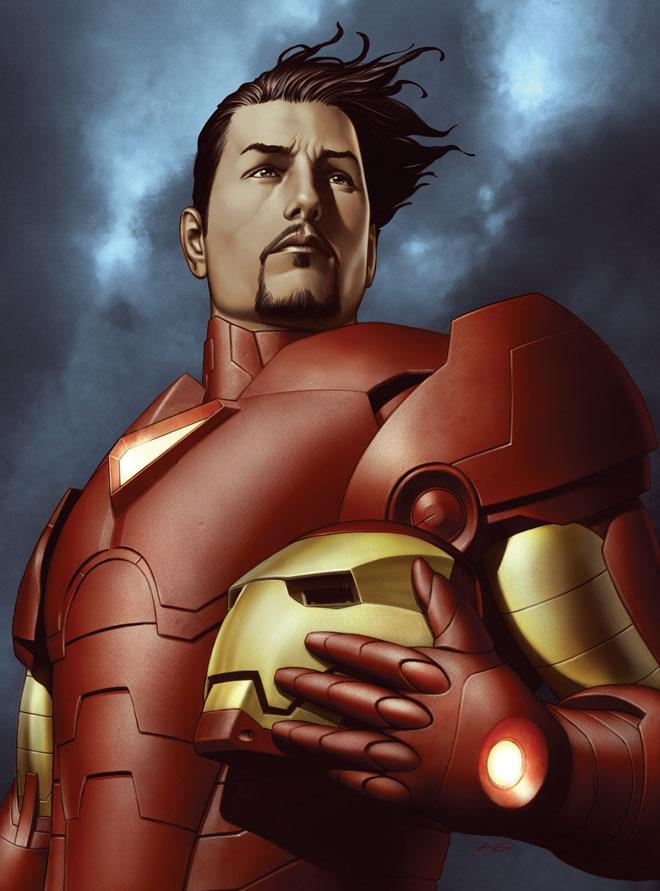 โทนี่ สตาร์ค ชุดเกราะ Iron man
