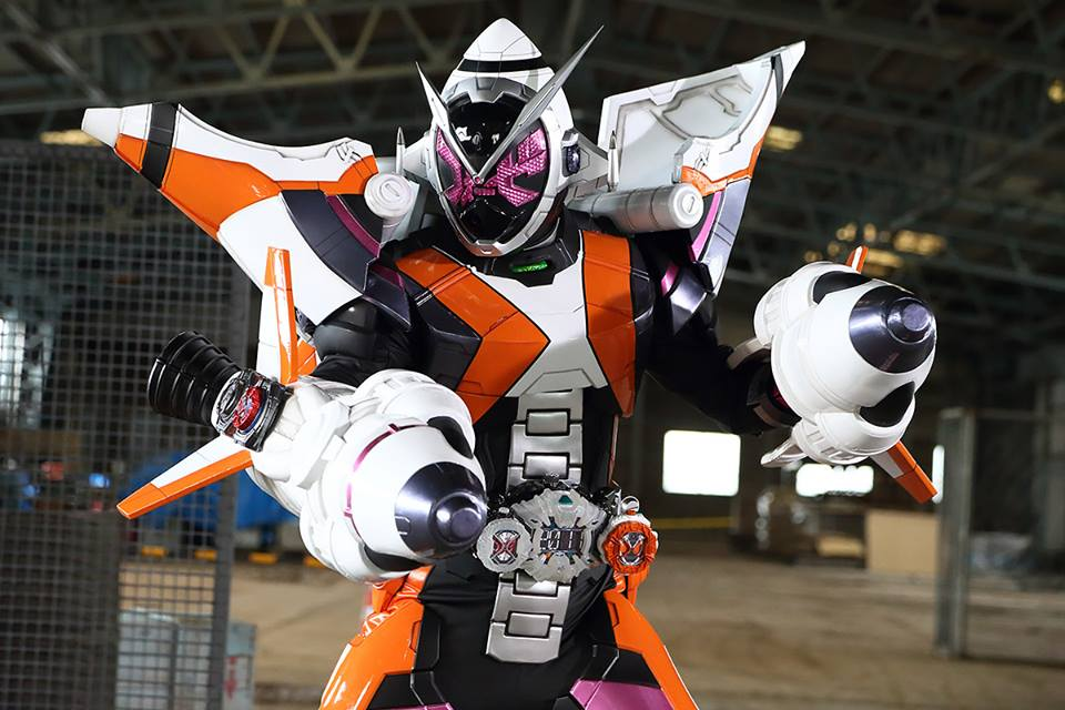 Kamen Rider ZI-O Fourze Armor Rocket Mode